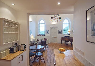 Chapel Studio, Self Catering Apartment, Somerset
